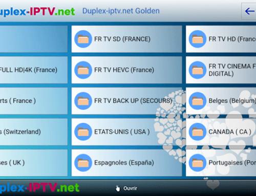 DuplexPlay Golden Channel List