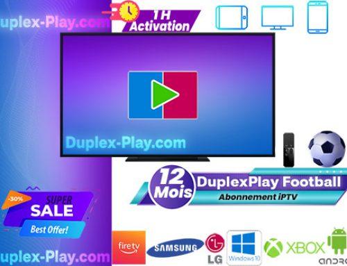 Liste des chaînes DuplexPlay Football